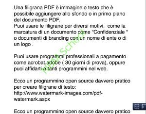 GRATIS: creare filigrana in un PDF